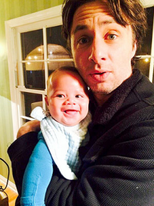 Guess Who Zach Braff's the Godfather of?
