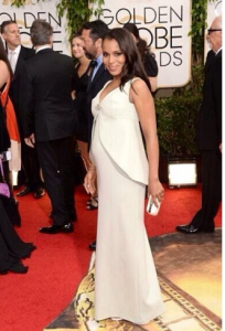 Kerry Washington Glows in Balenciaga!