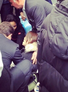 This Mom Gave Birth on a Crowded NYC Street—at Rush Hour—in the Dead of Winter.