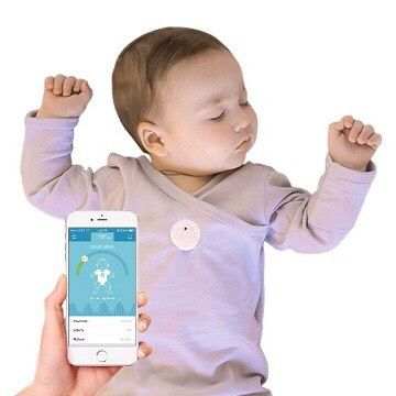 MonBaby Smart Button Baby Monitor
