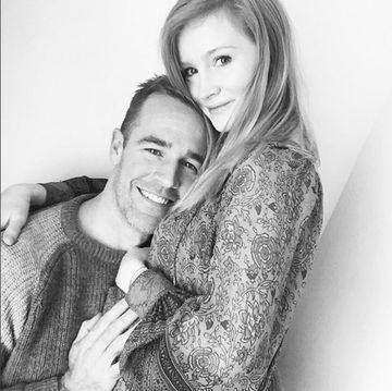 James and Kimberly Van Der Beek pregnancy announcement