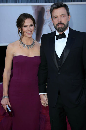 jennifer garner and ben affleck coparenting