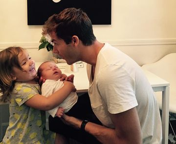 jon mclaughlin with daughters