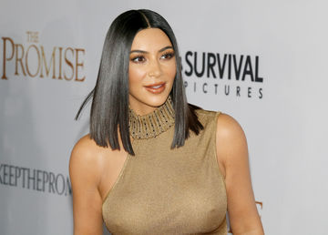 Kim Kardashian breastfeeding hack