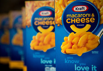 kraft mac & cheese boxes