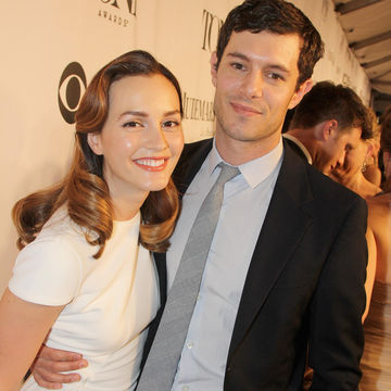 Leighton Meester and Adam Brody at Tonys