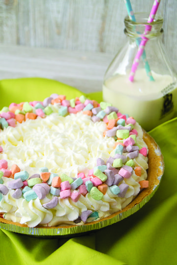 Cereal Dessert Marshmallow Charms Pudding Pie