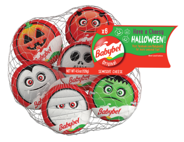 Halloween Snack Mini Babybel Cheese