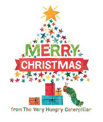Holiday Books Merry Christmas from The Very Hungry Caterpillar