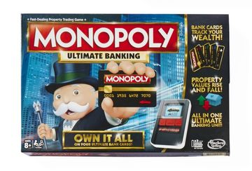 Monopoly Ultimate Banking Board Games of 2017
