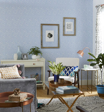Family Room Calm Color Wallpaper