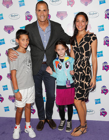 Nigel Barker and his family