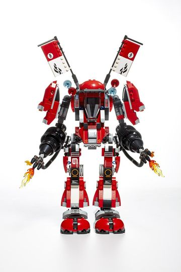 Best Toys 2017 The LEGO Ninjago Movie Fire Mech