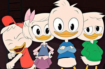Animated Cartoon Ducktales Reboot Characters