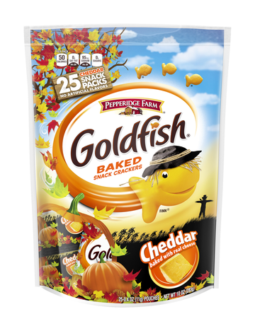 Halloween Snack Pepperidge Farm Goldfish Baked Snack Crackers