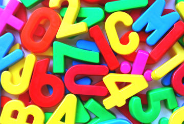 Assorted Letter Magnets