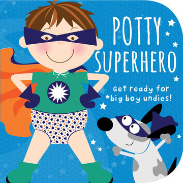 Potty Superhero Book Cover