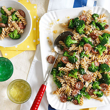 Pasta With Broccoli And Chicken Sausage Parents