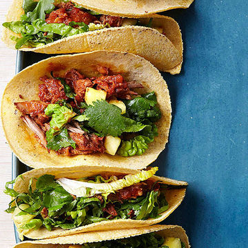 Slow-Cooker Pork Tacos recipe image