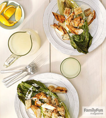 Smoky Caesar Salad recipe image