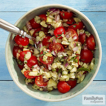 Tomato-Cucumber Salad recipe image