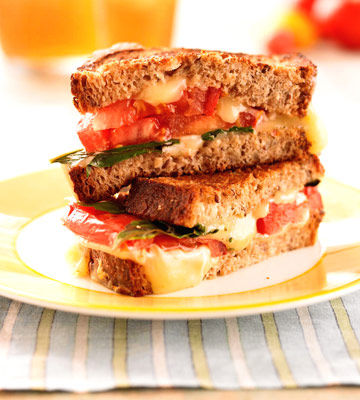 Grilled Tomato & Cheese recipe image
