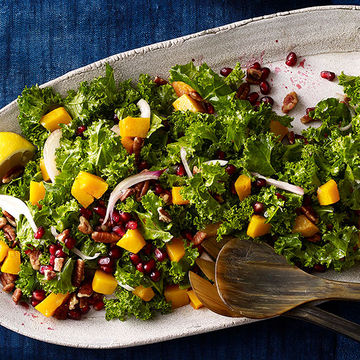 Autumn Kale Salad recipe image