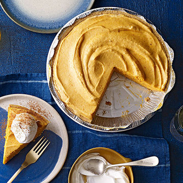 Pumpkin Chiffon Pie recipe image