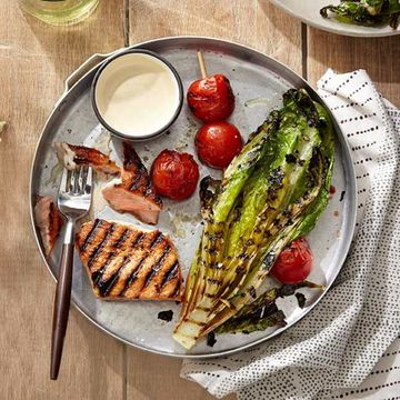 Grilled Salmon Salad recipe image