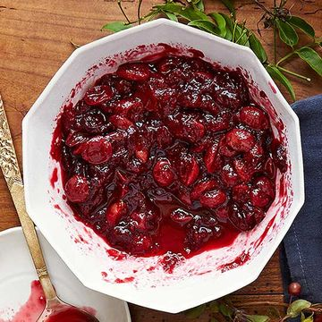 Cranberry-Grape Sauce recipe image