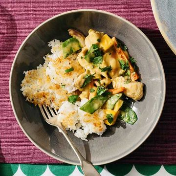 Mango Chicken and Rice recipe image