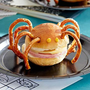 Savory Spiders recipe image