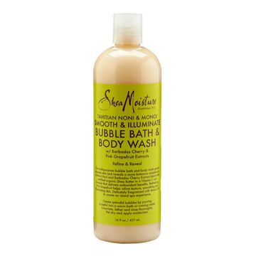 SheaMoisture Tahitian Noni and Monoi Smooth and Illuminate Bubble Bath and Body Wash