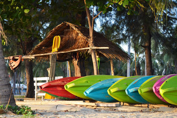 summer camp canoes