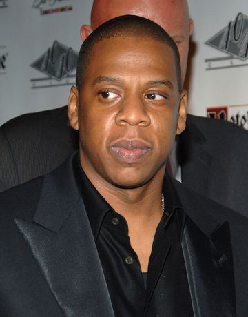 Jay Z in Black Suit