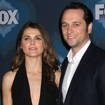 Keri Russell and Matthew Rys