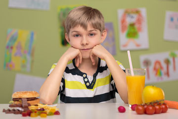 Healthy Eating Child Junk Food