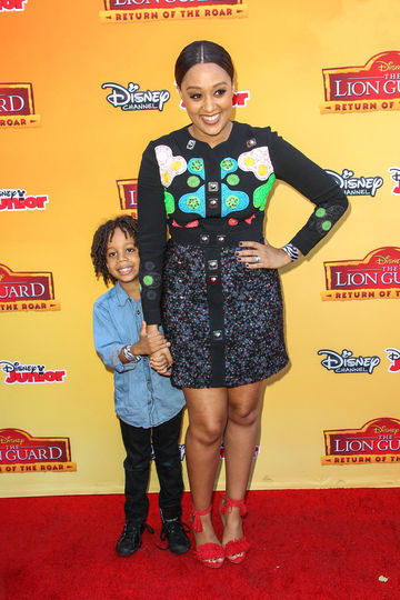 Tia Mowry and Cree 2015