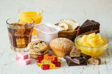 Foods with Added Sugar