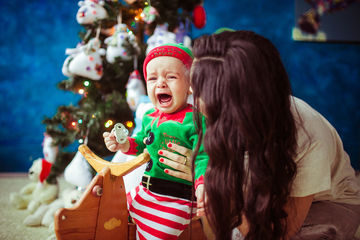 Holiday Tantrums Christmas Baby Crying