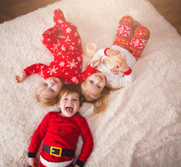 Holiday traditions: matching pajamas