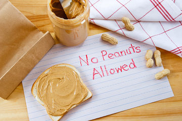 Peanut Allergy Sign