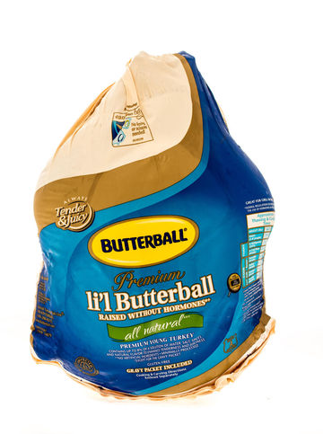 Turkey in Butterball Packaging