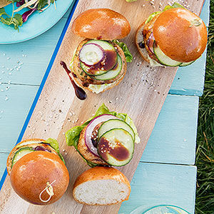 Asian Shrimp Sliders