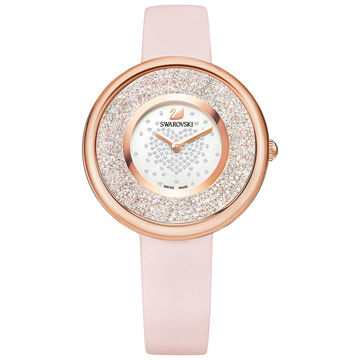 Swarovski Pink Rose Gold Watch