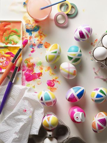 Decorate Eggs All Taped Up