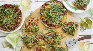 Terra's Kitchen Cheeseburger Pizzas meal kit