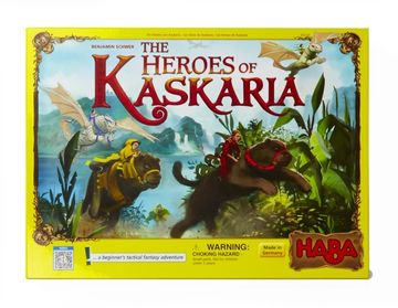 The Heroes of Kaskaria Board Games of 2017