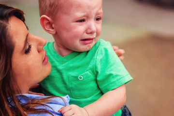 toddler crying, too small to fail