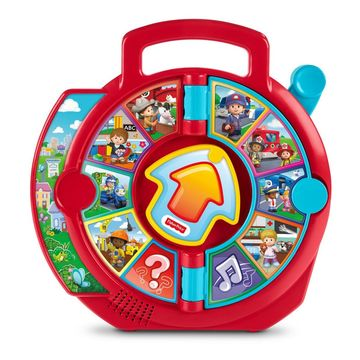 toys that teach talking language fisher-price see 'n say